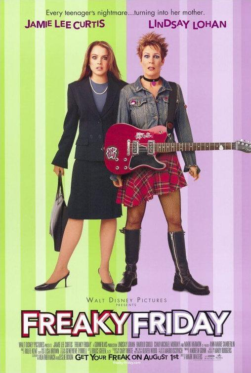 A poster for Disney's Freaky Friday. (Disney)