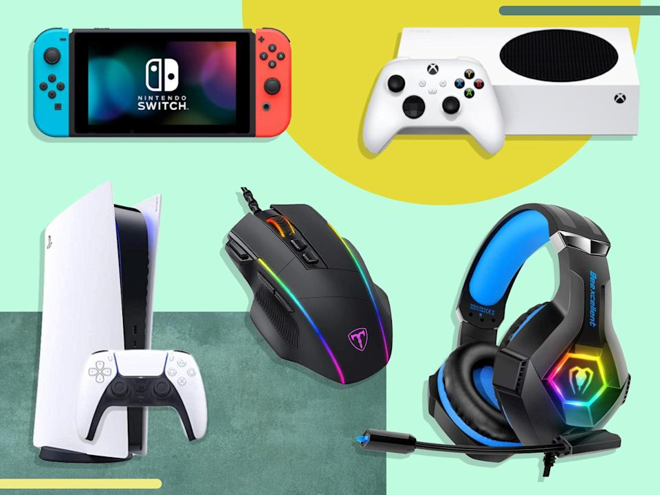 Don't delay – gaming deals have been moving at lightning speed during Prime Day so far (iStock/The Independent)