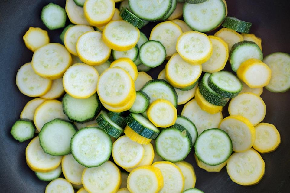 "<p>Veggies like asparagus, spinach, zucchini, summer squash, and beets are great for a healthy microbiome growth environment, said Dr. Dixit. That's because fiber is the energy source for good bacteria to survive. ""They also have a solid source of folate, and fat-soluble vitamins like A and K.""</p>"