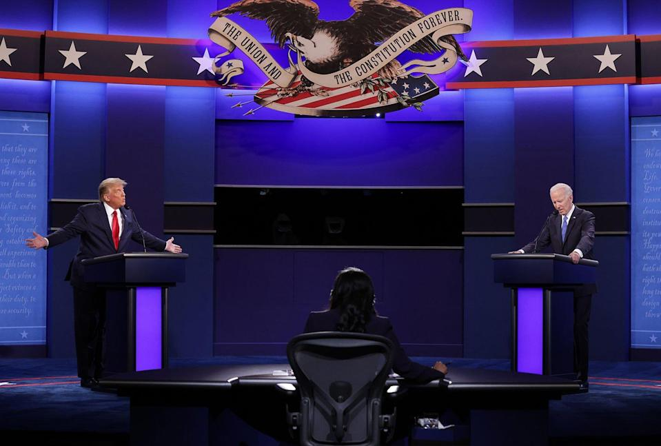 Presidential Debate; Donald Trump; Joe Biden