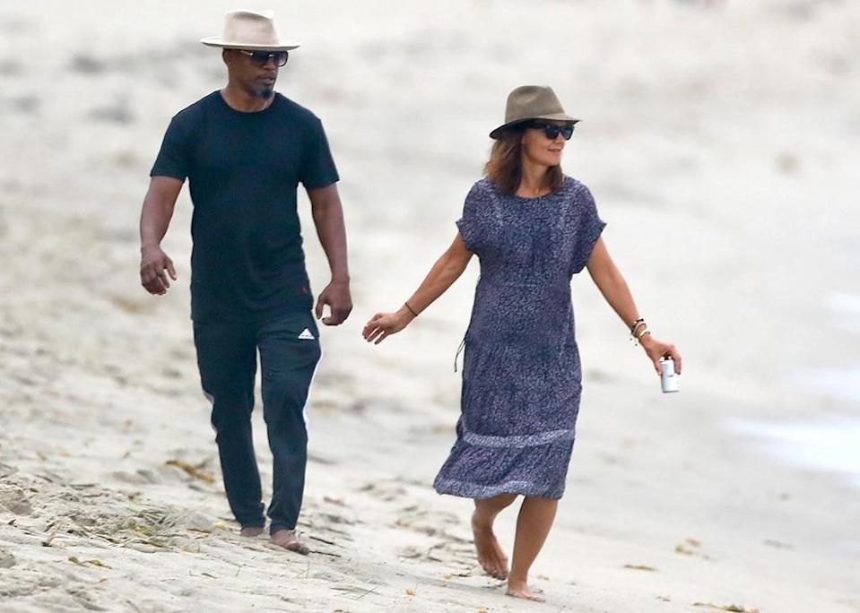 Jamie Foxx and Katie Holmes are no longer hiding their love away. (Photo: BACKGRID)