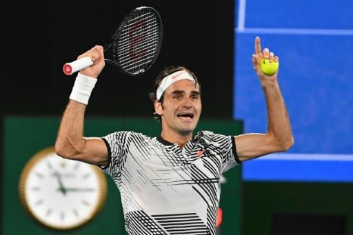 Federer thanks lucky stars for Nadal Australian Open fightback