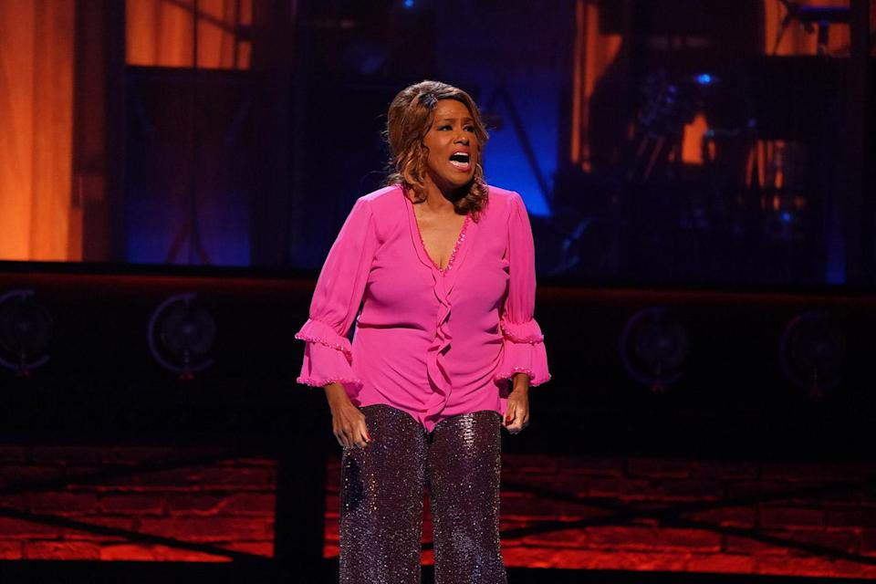 """<p>Almost 40 years after winning Best Actress in a Musical for her turn as Effie in <a href=""""https://ew.com/creative-work/dreamgirls/"""" rel=""""nofollow noopener"""" target=""""_blank"""" data-ylk=""""slk:Dreamgirls"""" class=""""link rapid-noclick-resp""""><em>Dreamgirls</em></a>, <a href=""""https://ew.com/tag/jennifer-holliday/"""" rel=""""nofollow noopener"""" target=""""_blank"""" data-ylk=""""slk:Jennifer Holliday"""" class=""""link rapid-noclick-resp"""">Jennifer Holliday</a> returned to the Tony Awards stage to perform her character's signature number — and brought the house down once again. Holliday's powerhouse, full-bodied performance had the audience members on their feet before the song even ended, where they stayed until she brought it home. Talk about a reprise for the ages.</p>"""