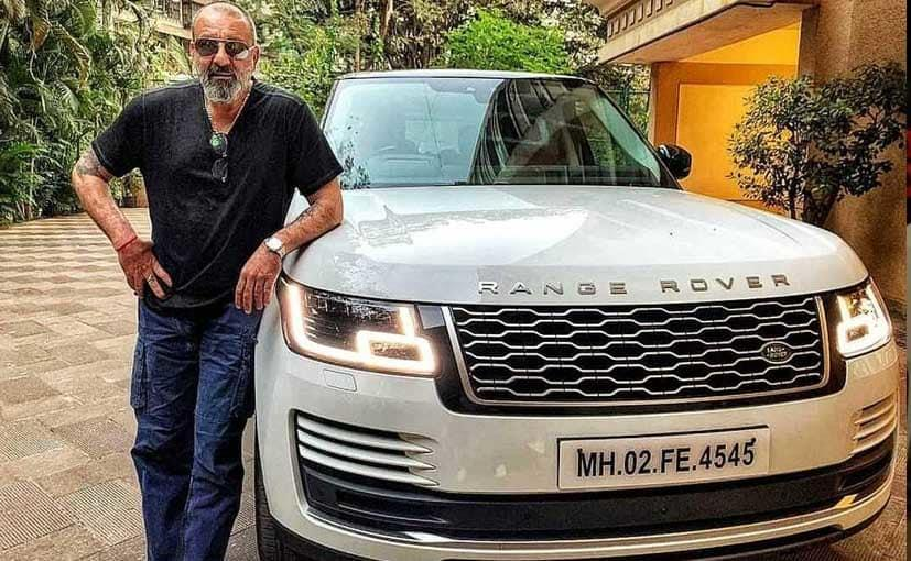 The deadly Dutt has an impeccable tastes in cars (he has a fiery red Ferrari) but his daily steed is his white Range Rover.