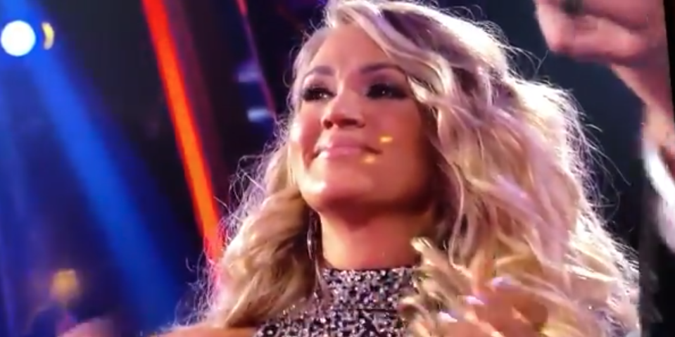 Carrie Underwood Reacts to Her Entertainer of the Year Loss at the CMA Awards in the Most Epic Way