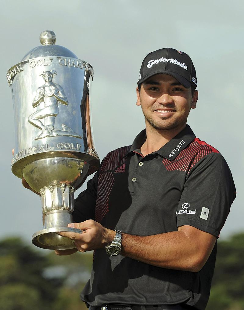 Jason Day wins World Cup at Royal Melbourne