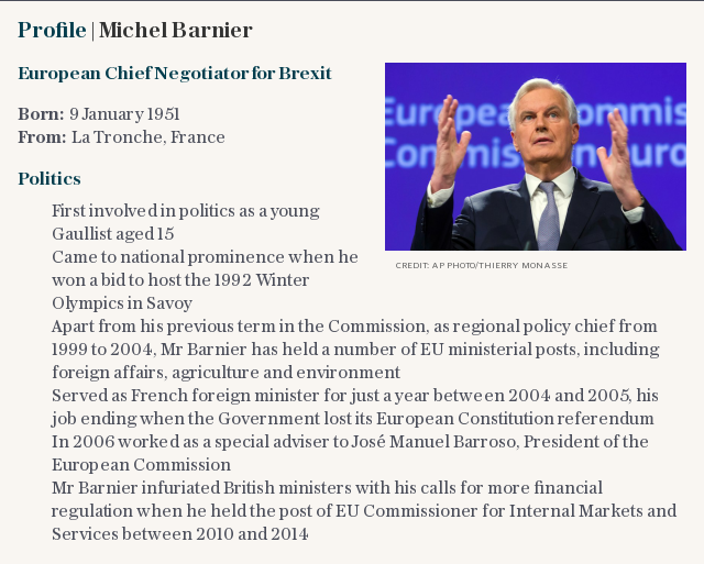 Profile | Michel Barnier
