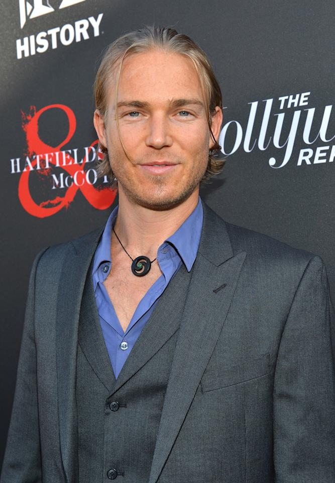 "Jilon VanOver attends a special screening of ""Hatfields & McCoys"" hosted by The History Channel at Milk Studios on May 21, 2012 in Hollywood, California."