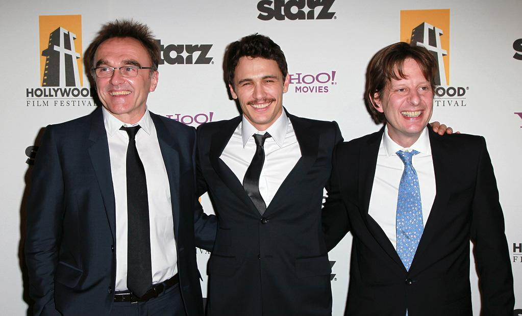 "<a href=""http://movies.yahoo.com/movie/contributor/1800025182"">Danny Boyle</a>, <a href=""http://movies.yahoo.com/movie/contributor/1800352352"">James Franco</a> and <a href=""http://movies.yahoo.com/movie/contributor/1808630439"">Christian Colson</a> attend the 14th Annual Hollywood Awards Gala at the Beverly Hilton Hotel on October 25, 2010."