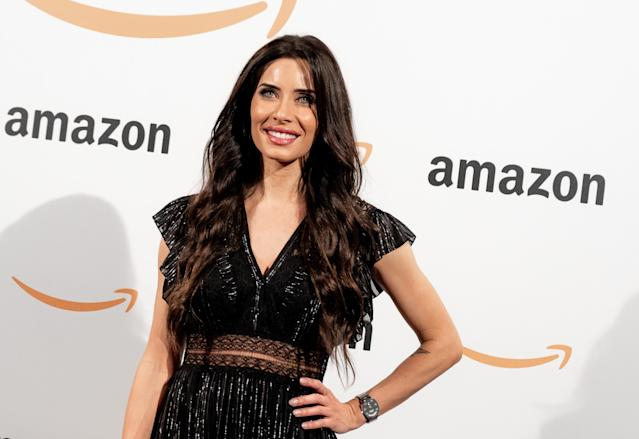 Pilar Rubio attends Amazon POP-UP inauguration at Callao cinemas on November 27, 2019 in Madrid, Spain. (Miriam Vera/Coolmedia/NurPhoto via Getty Images)