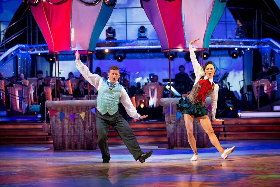 Mike Bushell has hit back at comments that he'll 'never' be a dancer (Credit: BBC)