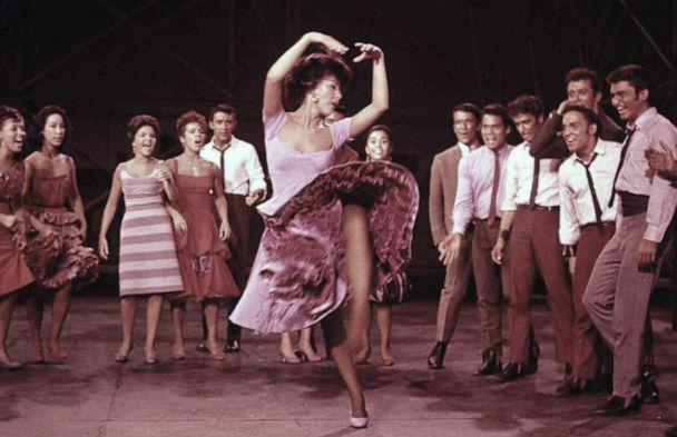 PHOTO: West Side Story, in Szene, 1961. (United Archives/FilmPublicityArchive via Getty Images, FILE)