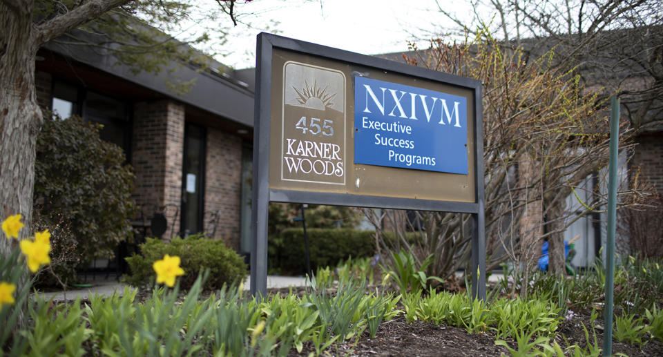 The headquarters of NXIVM. Source: Getty Images