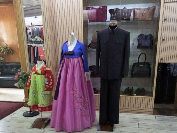 PHOTO: The Korea Sonbong Exhibition Centre clothes shop, reserved for North Korea's elite, in Pyongyang on June 5, 2018. (Courtesy Alek Sigley)