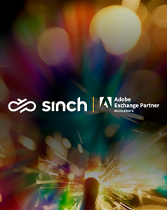 Sinch extends strategic collaboration with Adobe to enable engagement through conversational messaging channels