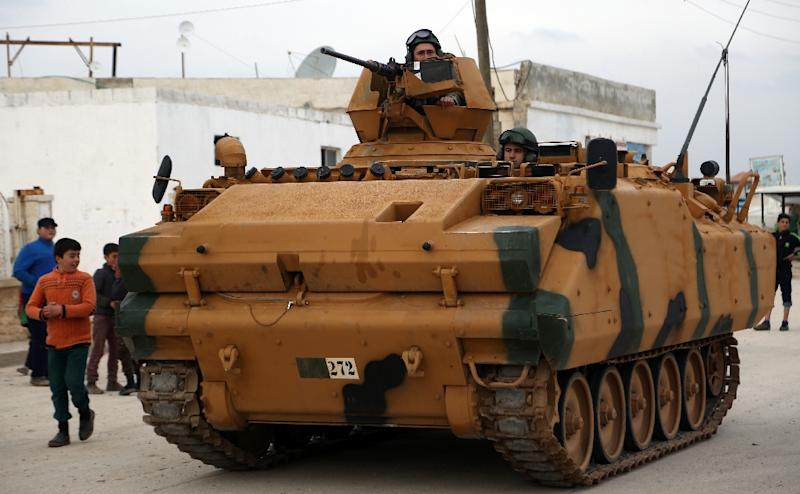 Turkey begins aerial offensive against Kurdish-held enclave in Syria