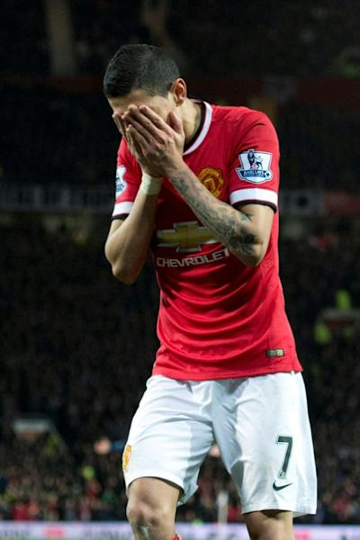 Di Maria didn't get on with manager Louis van Gaal during a difficult 2014/15 season at Old Trafford