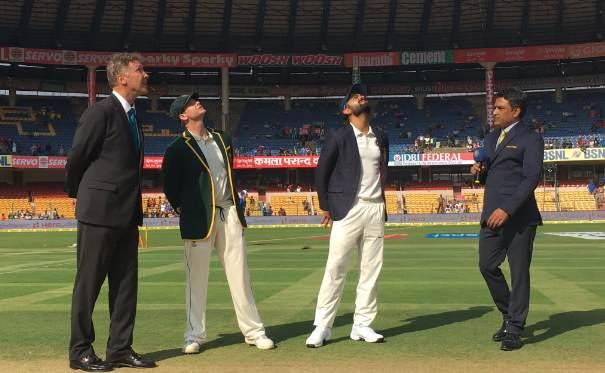 India opt to bat in 2nd test against Australia