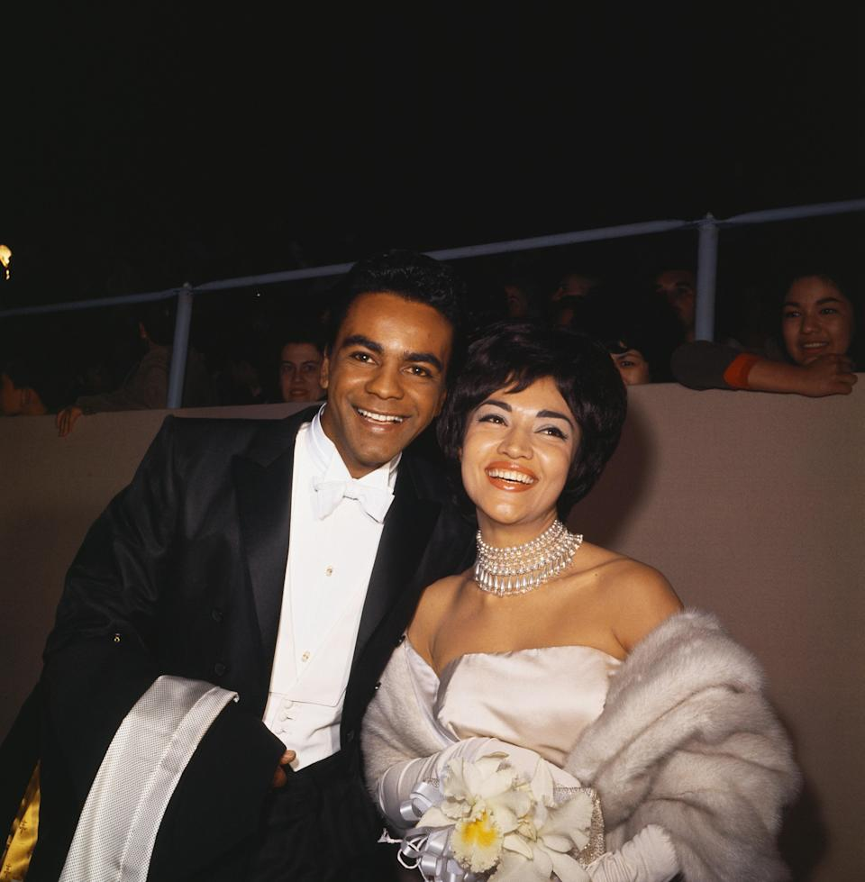 Johnny Mathis and Miriam Colon, 1962