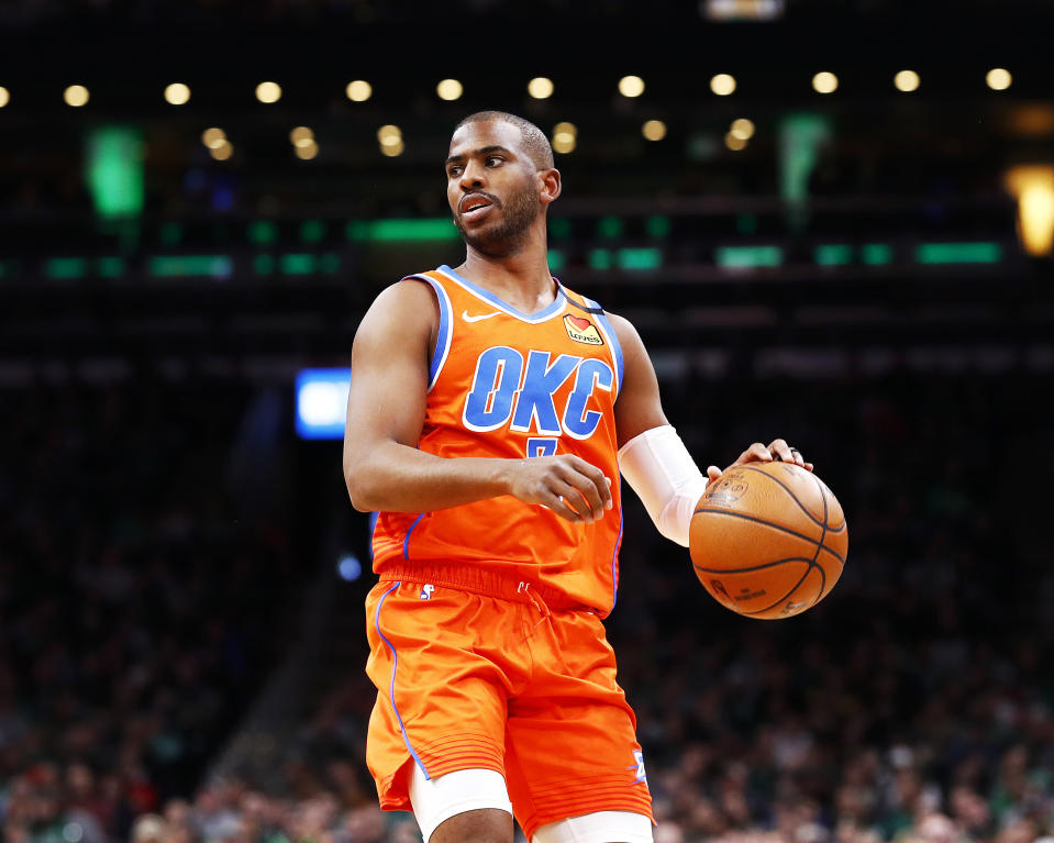 Chris Paul has sustained a winning culture in Oklahoma City. (Omar Rawlings/Getty Images)