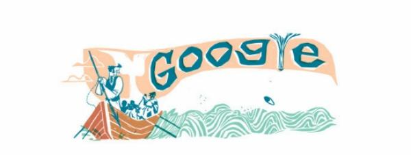 'Moby-Dick' Tribute Is a Whale of a Google Doodle