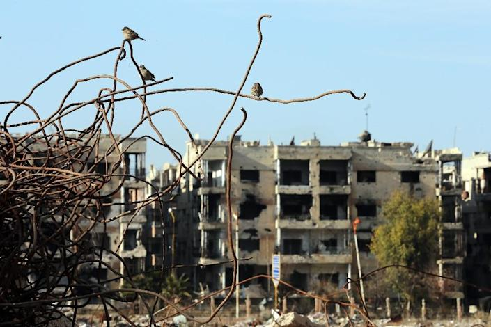 A UN report condemns rampant war crimes in Syria's nearly five-year-old war (AFP Photo/Joseph Eid)