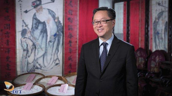 Mr. Kenneth Chan, Executive Director of Kui Fat Yuen Limited and Chairman of The Rice Merchants' Association of Hong Kong