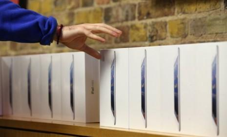 The iPad mini is the latest hot commodity from Apple, and some clever crooks allegedly made off with 3,600 of them from a New York airport.