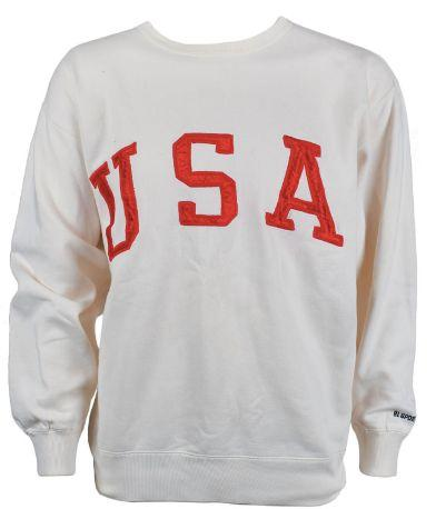 The cream-colored sweatshirt that sold for more than $7,500, (Photo: RR AUCTION)