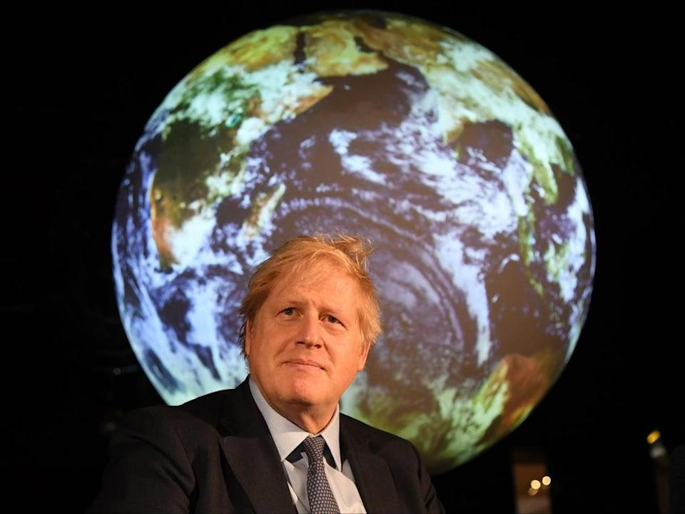 PM Boris Johnson will act as president of the UN Climate Change Conference in Glasgow from 1 November (Getty)