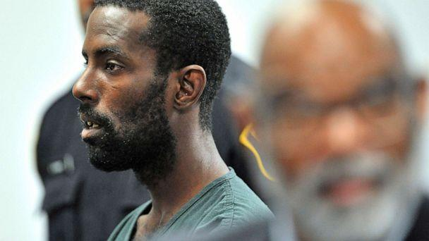 PHOTO: Deangelo Martin stands for a probable cause hearing, in Detroit, June 20, 2019. (Todd Mcinturf//Detroit News via AP, FILE)