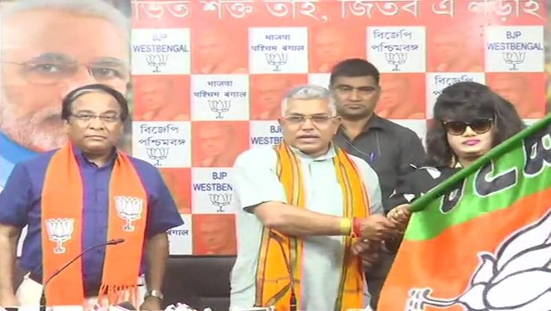 Anju Ghosh, Bangladeshi Actress, Joins BJP in West Bengal, Refrains From Commenting on NRC