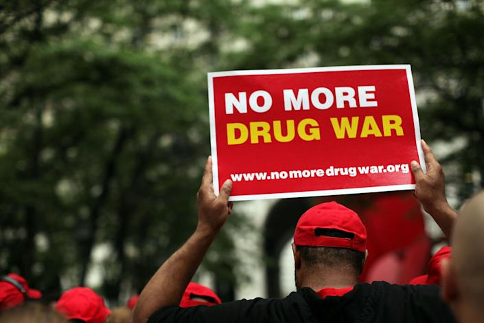 """Only 7 percent of Americans think the United States is <a href=""""http://www.rasmussenreports.com/public_content/lifestyle/general_lifestyle/november_2012/7_think_u_s_is_winning_war_on_drugs"""">winning the war on drugs</a>, and few Americans are interested in throwing down more money to try to win, according to a Rasmussen Reports poll released in 2012."""