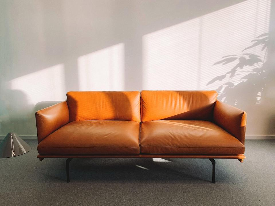 """<p>Need new furniture? Rather than heading to your favorite online shop for a new couch or chair, check out your local <a href=""""http://nh.craigslist.org/"""" class=""""link rapid-noclick-resp"""" rel=""""nofollow noopener"""" target=""""_blank"""" data-ylk=""""slk:Craigslist"""">Craigslist</a> or <a href=""""http://www.facebook.com/marketplace"""" class=""""link rapid-noclick-resp"""" rel=""""nofollow noopener"""" target=""""_blank"""" data-ylk=""""slk:Facebook Marketplace"""">Facebook Marketplace</a> and see what's for sale. The two have great offerings, and it beats buying from a fast furniture store where a majority of the materials cannot be recycled.</p>"""