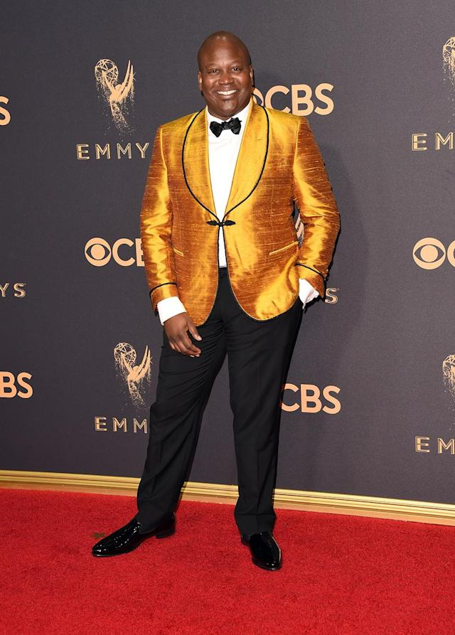 <p>Tituss Burgess attends the 69th Annual Primetime Emmy Awards on September 17, 2017.<br> (Photo: Getty Images) </p>