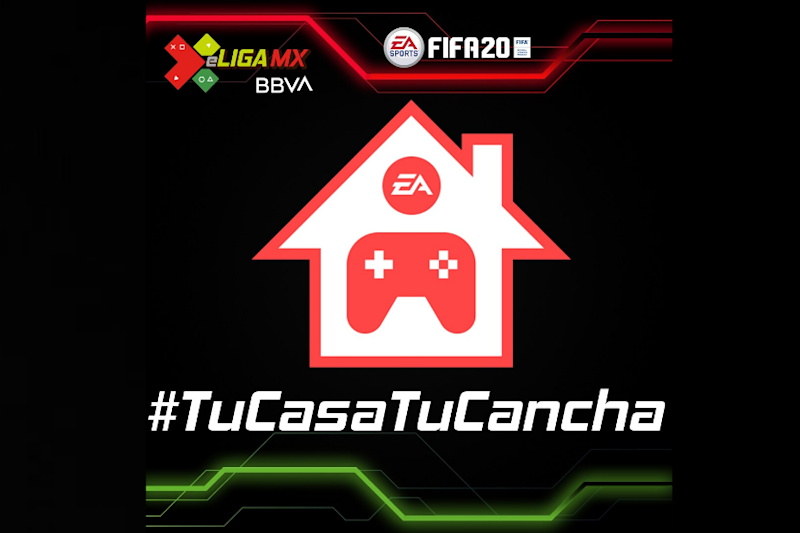 With No Physical Matches, Mexican Footballers Play FIFA 20 Online