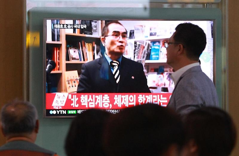 N. Korea state media says diplomat defector
