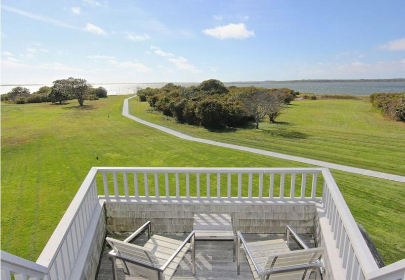 The Obamas' new home on Martha's Vineyard. Listed by Thomas LeClair and Gerret Conover of LandVest Martha's Vineyard. | Landvest.com