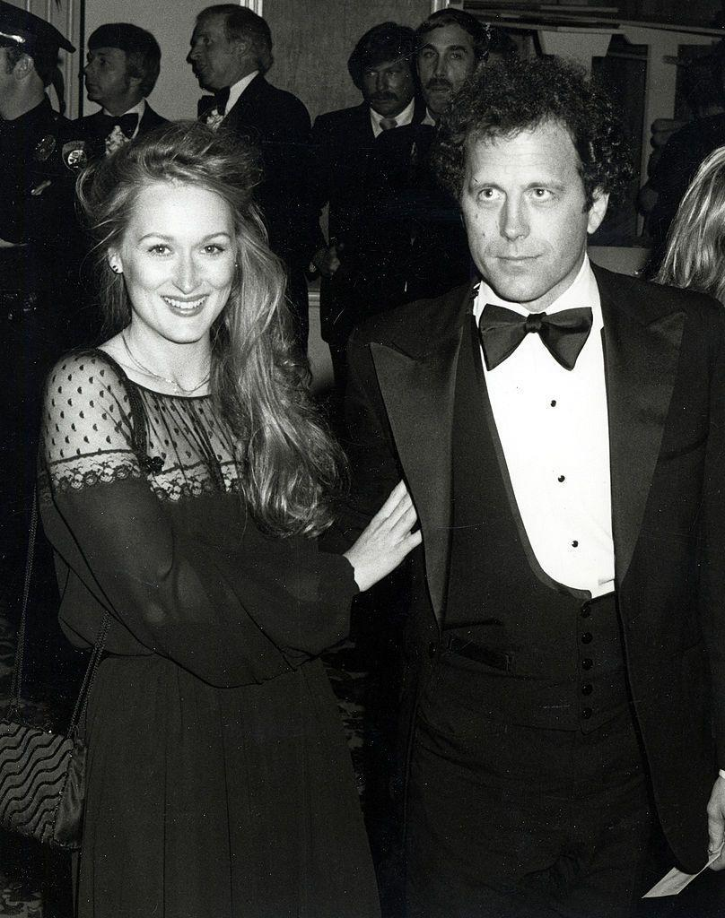 """<p>The 21-time Oscar nominee first attended the Academy Awards in 1979 when she was nominated in the Best Supporting Actress category for The Deer Hunter. Here she is with<a href=""""https://www.elle.com/uk/life-and-culture/g21049635/the-longest-celebrity-marriages-relationships/"""" rel=""""nofollow noopener"""" target=""""_blank"""" data-ylk=""""slk:husband of 42 years Don Gummer."""" class=""""link rapid-noclick-resp""""> husband of 42 years Don Gummer.</a></p>"""