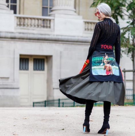 <p>This year tour merch from the likes of Justin Bieber and Kanye West has been HUGE. Fashionistas even managed to do the impossible and make it look chic. [Photo: Samantha Angelo/ Instagram] </p>