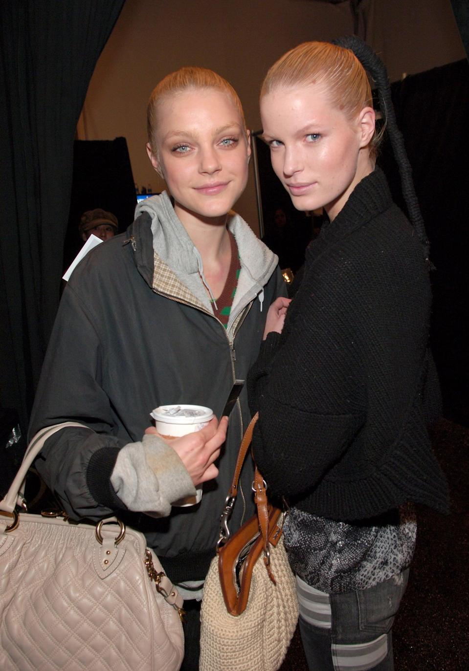 <p>Back in 2006, Jessica Stam was ruling the runway. The girl was so good, Marc Jacobs named this quilted bag after her.</p>