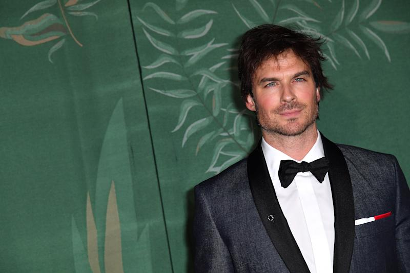 A photo of Ian Somerhalder at the Green Carpet Fashion Awards during the Milan Fashion Week Spring/Summer 2020 on September 22, 2019 in Milan, Italy.