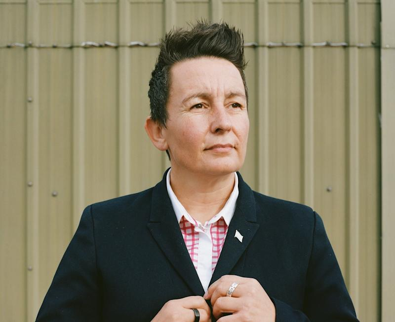 Tracy O'Hara is aa police detective constable in Merseyside and co-chair of the National Police LGBT Network and chair of the Merseyside Police Lesbian, Gay, Bisexual and Transgender (LGBT) Staff Support Network (Photo: STUDIOGRABDOWN for HuffPost)