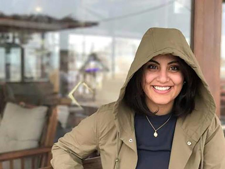 Jailed Saudi activist Loujain al-Hathloul, who has campaigned for women's right to drive, appears in an undated picture on her Facebook page
