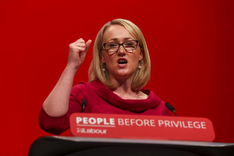 Corbyn-ally and left-winger Rebecca Long-Bailey (Bloomberg via Getty Images)