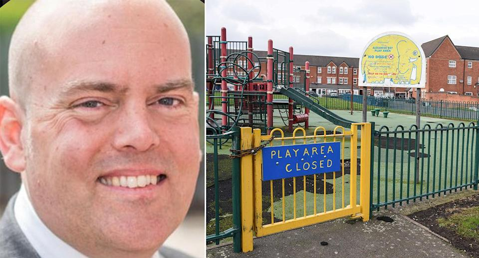 The protests are against a series of classes run by assistant headteacher Andrew Moffat (Caters)