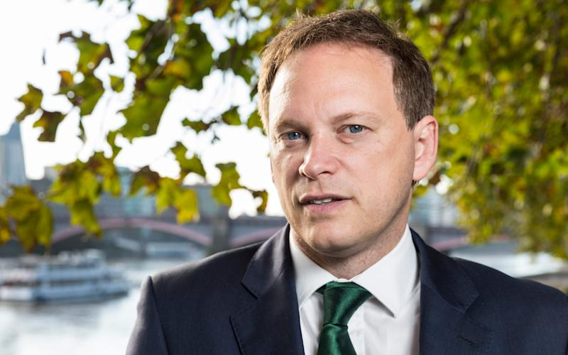 Grant Shapps intervened last week - Credit: Telegraph