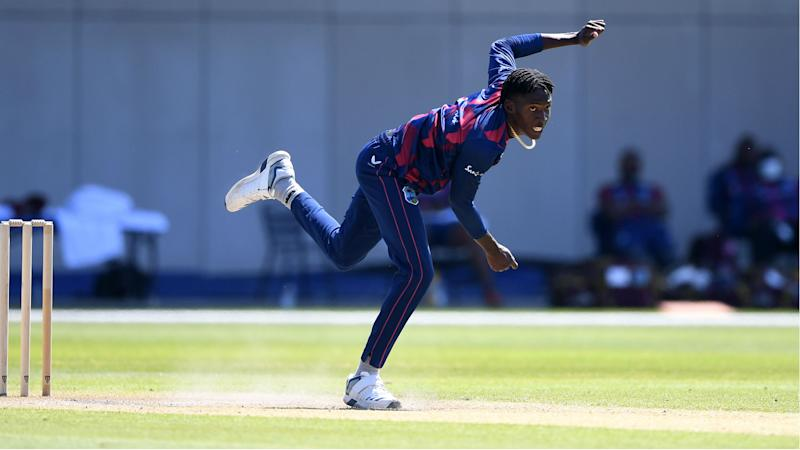Drakes says former sprinter Chemar Holder has the pace to torment England