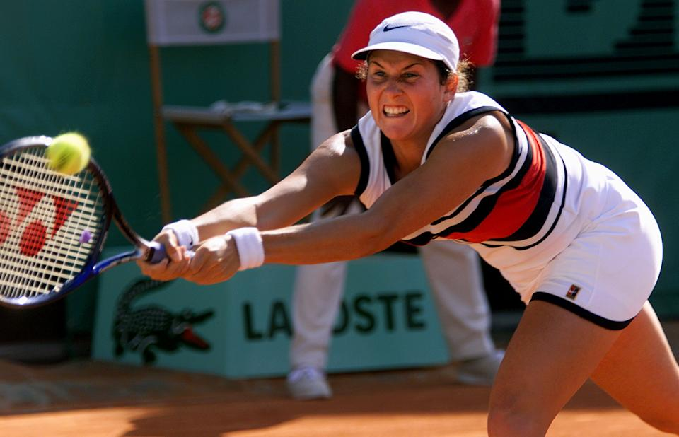 Monica Seles' upside was as the greatest women's tennis champion of all time. (Associated Press)