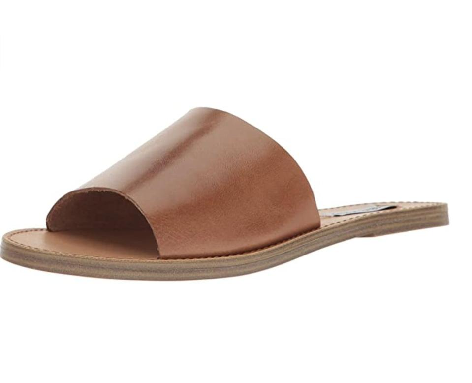 <p>These <span>Steve Madden Flat Sandals</span> ($50 - $53) are made for spontaneous summer plans.</p>